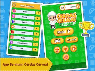 Aplikasi Belajar Anak SD Cerdas Cermat Islami