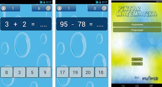 Aplikasi Anak SD Pintar Cerdas Matematika