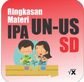 Aplikasi Rangkuman Materi UN US IPA SD